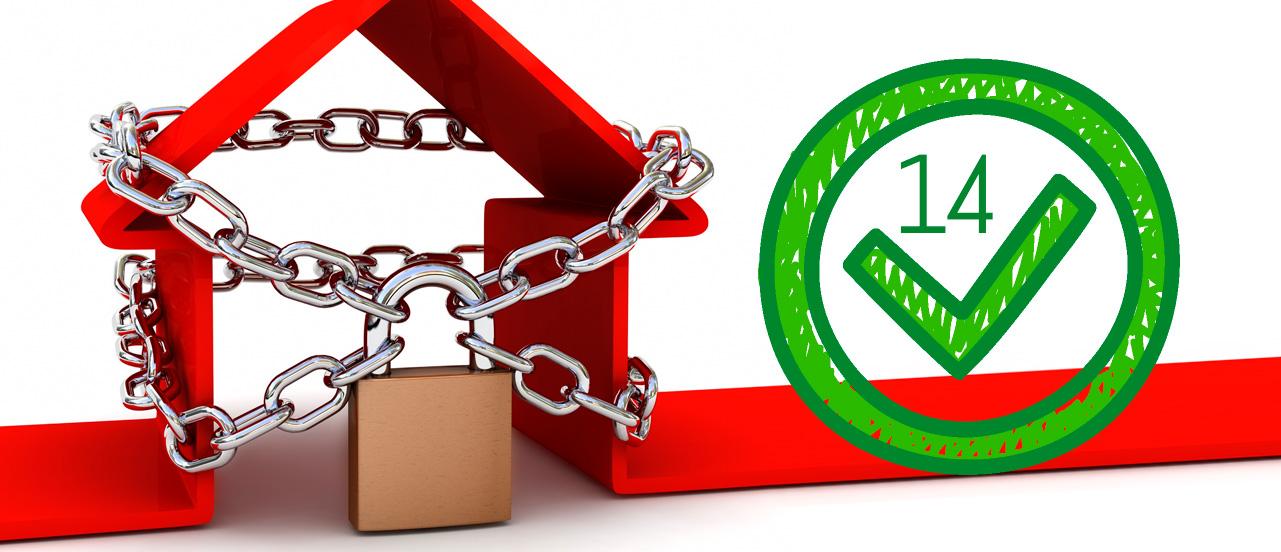 Protege su casa: 14 sencillos puntos para proteger tu hogar